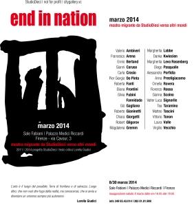ENDinNATION | Firenze | 2014