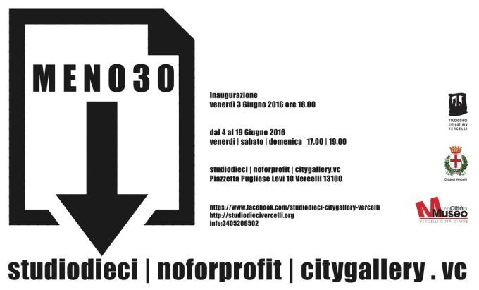 MENO30 - invito